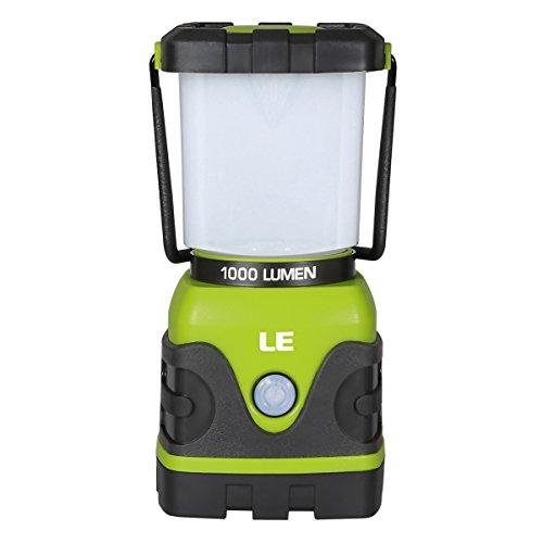LE 電池式 LEDランタン 超高輝度1000ルーメン 昼白...