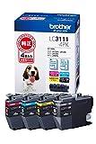 ブラザー インクカートリッジ 4色パック LC3111-4PK