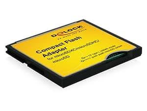 DeLOCK microSDXC/microSDHC/microSDカードをCFカードTypeIに変換するアダプター 61795