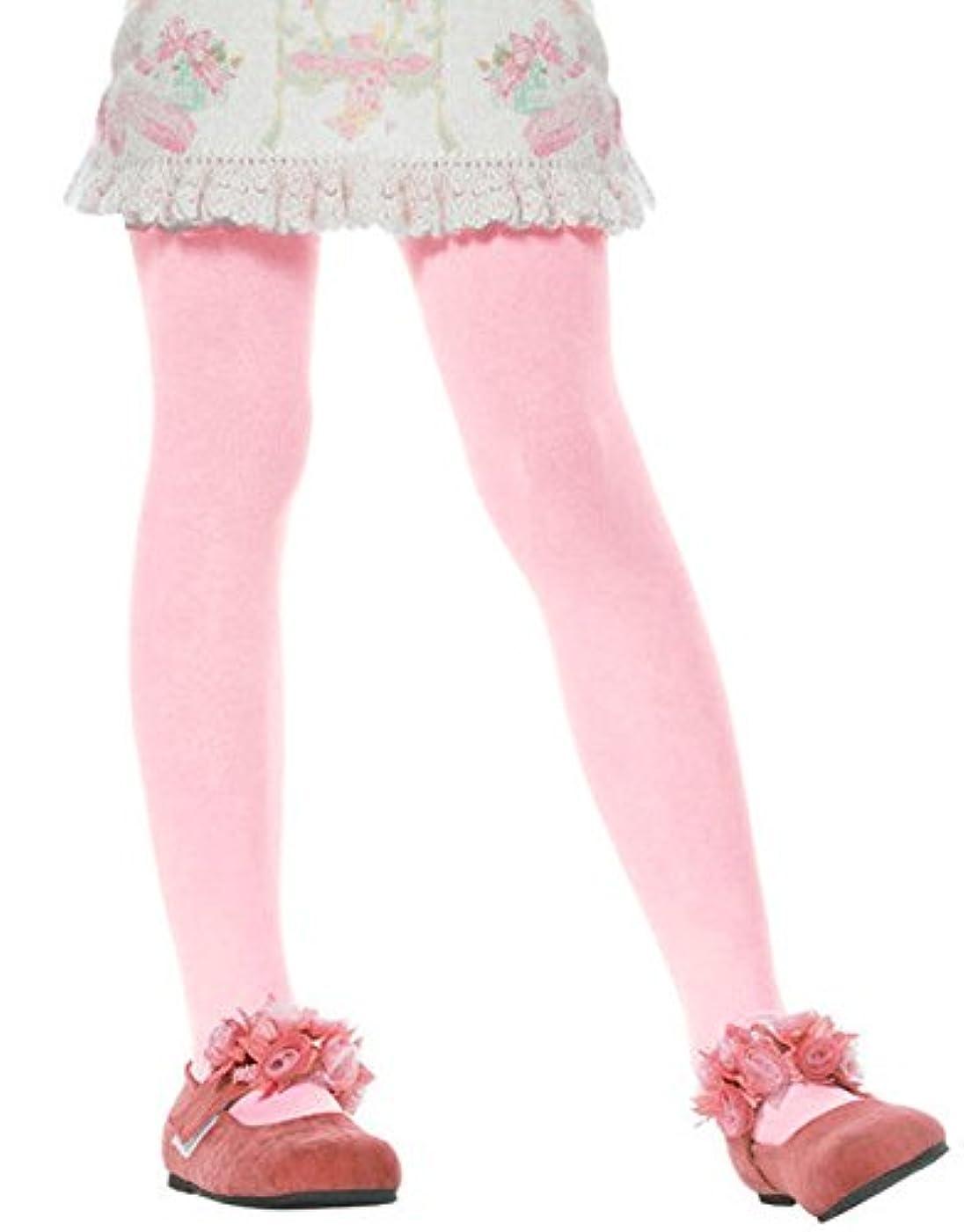 副詞旅行者の慈悲でLEG AVENUE レッグアベニュー タイツ ライトピンク 子供用 KIDS SIZE Sサイズ 4646