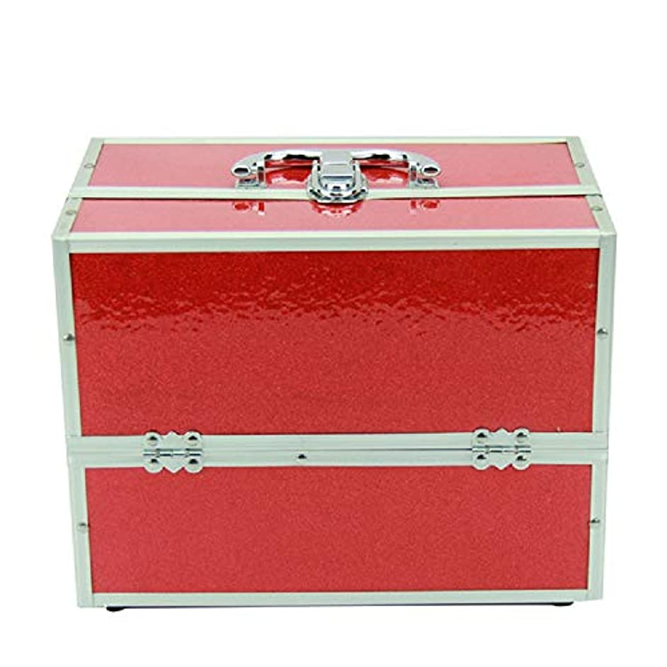 変える縮れた松化粧オーガナイザーバッグ 純粋な色ポータブル化粧品ケーストラベルアクセサリーシャンプーボディウォッシュパーソナルアイテムストレージロックとスライディングトレイ 化粧品ケース