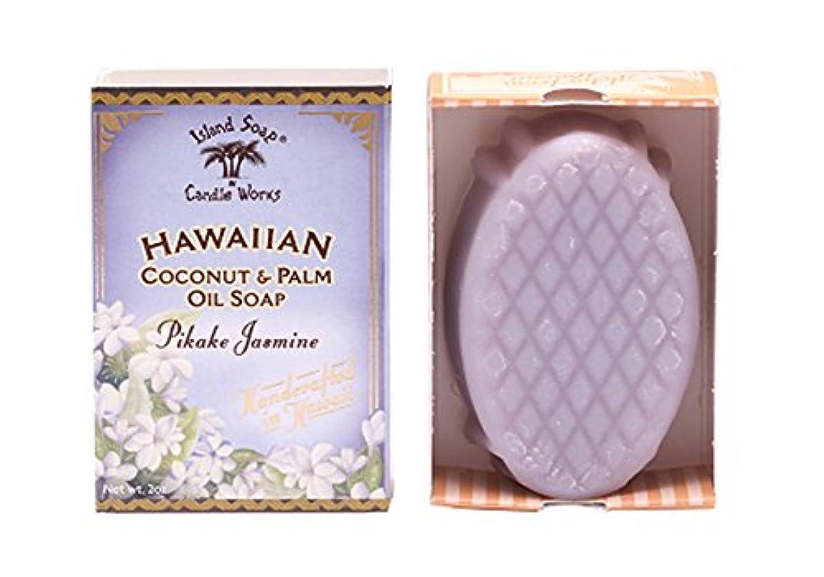 キャプション低下乳白色アイランドソープ ココナッツソープ ピカケ 50g