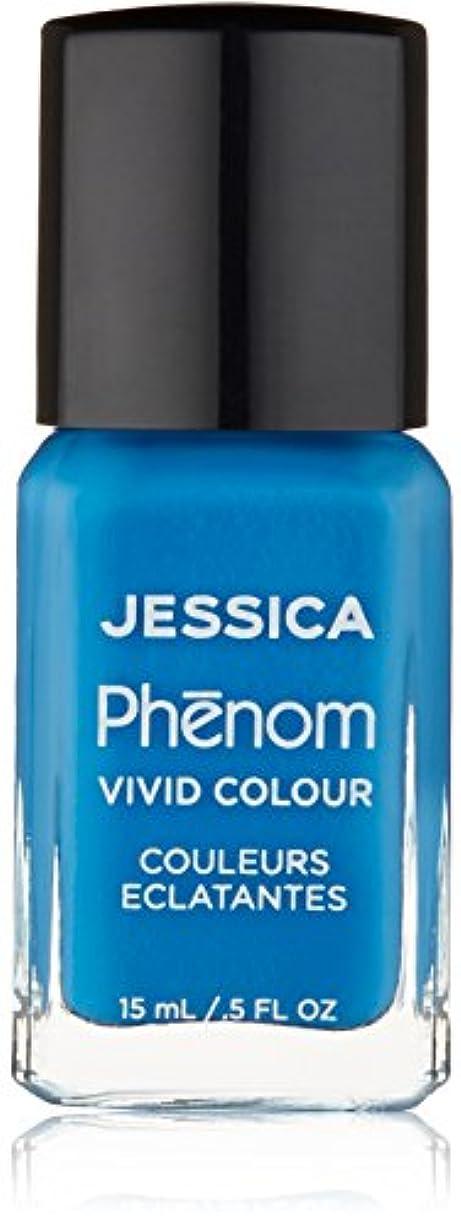 素朴な神経障害くさびJessica Phenom Nail Lacquer - Fountain Bleu - 15ml/0.5oz