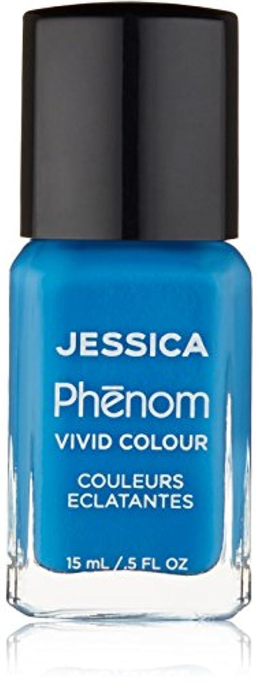 ホースあまりにも裏切りJessica Phenom Nail Lacquer - Fountain Bleu - 15ml/0.5oz