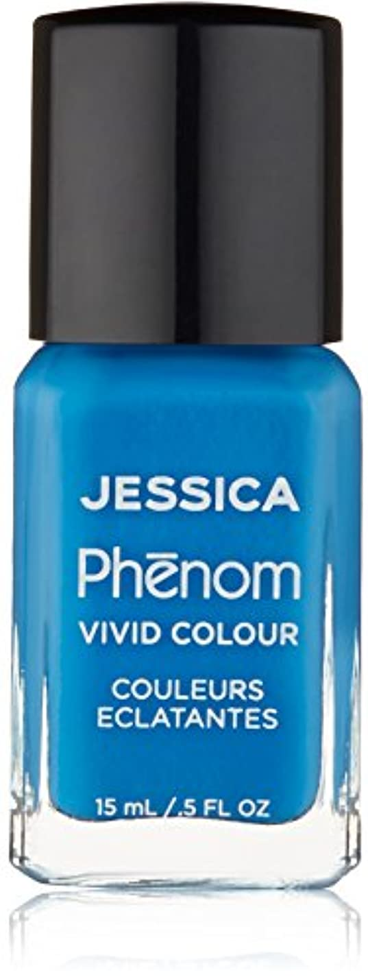 アピール彼女は目覚めるJessica Phenom Nail Lacquer - Fountain Bleu - 15ml/0.5oz