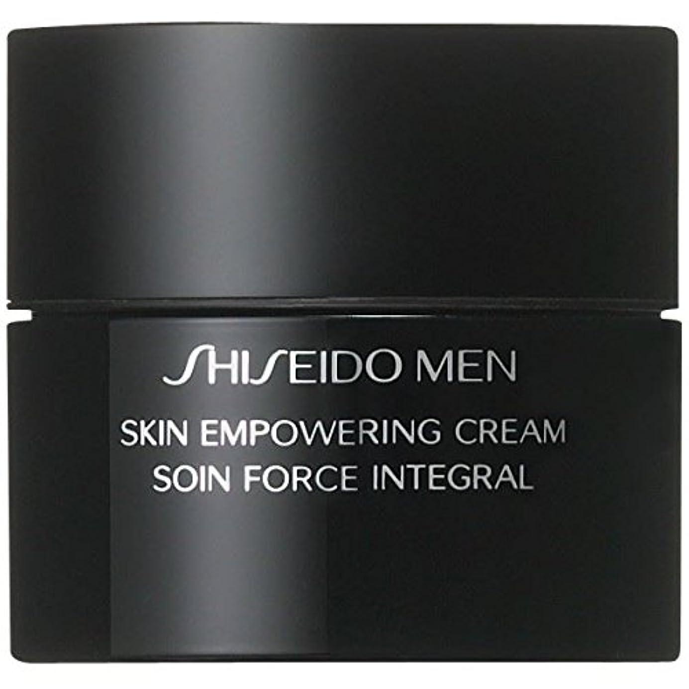 人無臭平手打ち[Shiseido ] クリーム50ミリリットルを力づける資生堂の男性用スキン - Shiseido Men Skin Empowering Cream 50ml [並行輸入品]