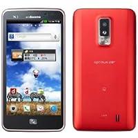 docomo Optimus LTE L-01D Red(レッド)白ロム