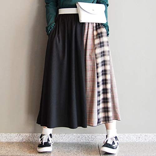 179/WG(179 WG) 柄切り替えロングギャザースカート