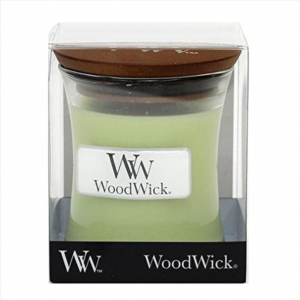 予測する襲撃チキンカメヤマキャンドル(kameyama candle) Wood Wick ジャーS 「 ウィロー 」