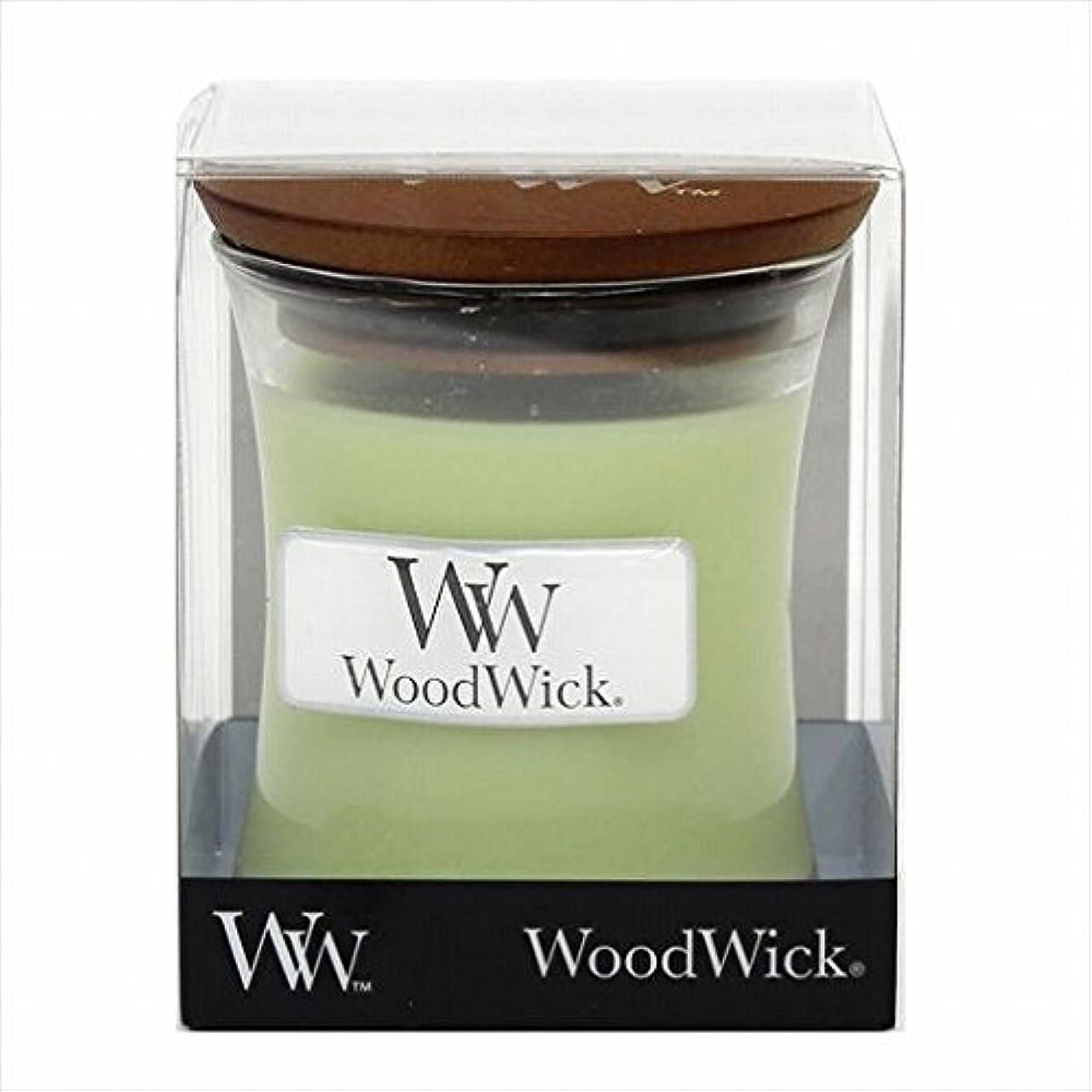 一過性韓国条件付きカメヤマキャンドル(kameyama candle) Wood Wick ジャーS 「 ウィロー 」