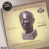 BRAHMS: ACADEMIC FESTIVAL OVERTURE, ALTO-RHAPSODY(remaster) by Hans Knappertsbusch / Vienna Philharmonic Orchestra (2009-11-11)