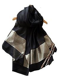 (エスエヌケー)SNK  冷房対策 シルク シフォンの華やかストール?ショール?スカーフ 薄手 羽織り オーガンジーストール 大判 uvカット パーティーストール フォーマル 無地