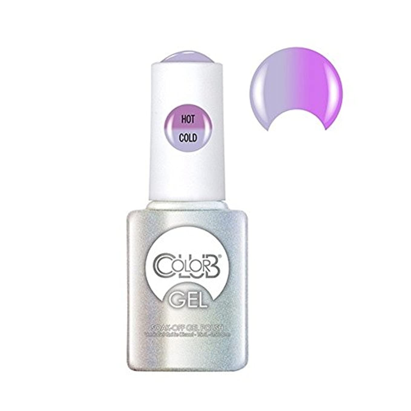 盗難四面体集団Color Club Gel Polish - Easy Breezy - 0.5oz / 15ml