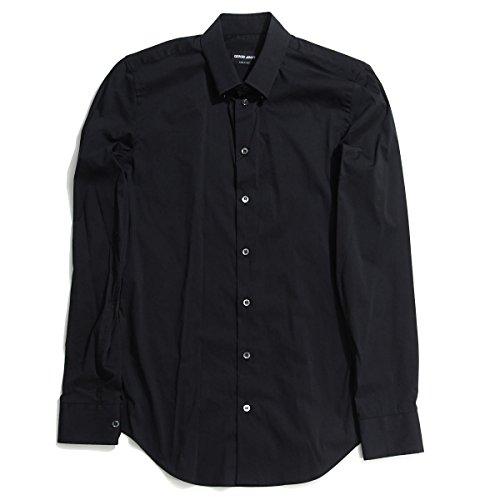 (ジョルジオアルマーニ) GIORGIO ARMANI スナップダウンシャツ 39サイズ [並行輸入品]
