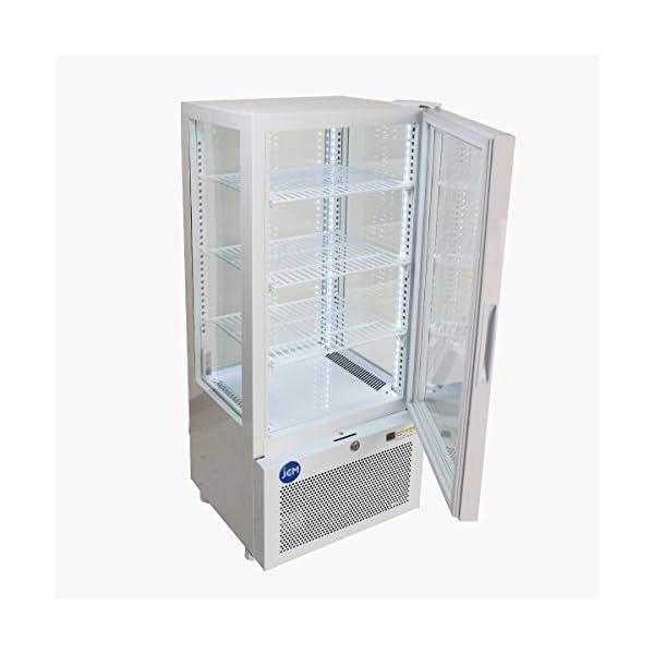 4面ガラス冷蔵ショーケース【JCMS-78】 ...の紹介画像3