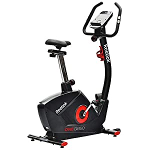 Reebok(リーボック) フィットネスバイク GB50-18 エクササイズバイク RVON-10401BK-18 キャスター付 GB50-18