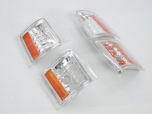 シボレー US ユーロ クリア ダイヤモンド クリスタル コーナーランプ コーナー ライト サバーバン(92y〜99y)・タホ(92y〜99y)・C1500/K1500/C2500/K2500/K3500(89y〜99y)・S-10ブレイザー(92y〜94y