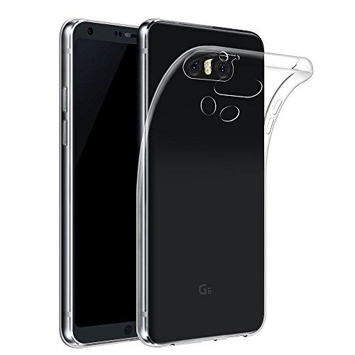 LG G6 ケース 【Qosea】LG G6 保護カバー 高品質TPU シリ...