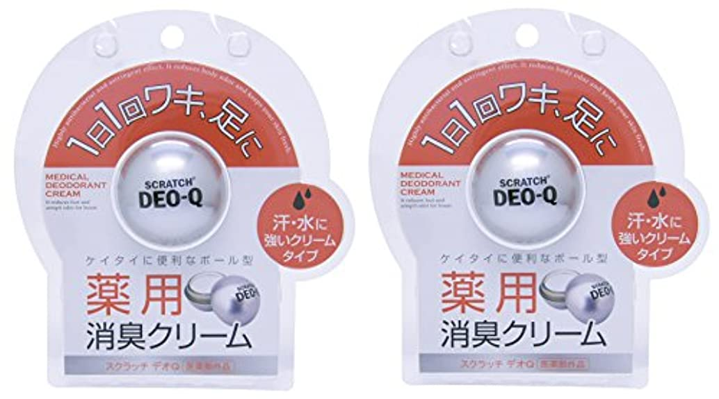 商品折国籍【医薬部外品】 スクラッチ デオQ 10g×2個セット