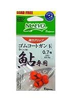 フジワラ(FUJIWARA) ゴムコートガン玉 鮎用 オレンジ 6B