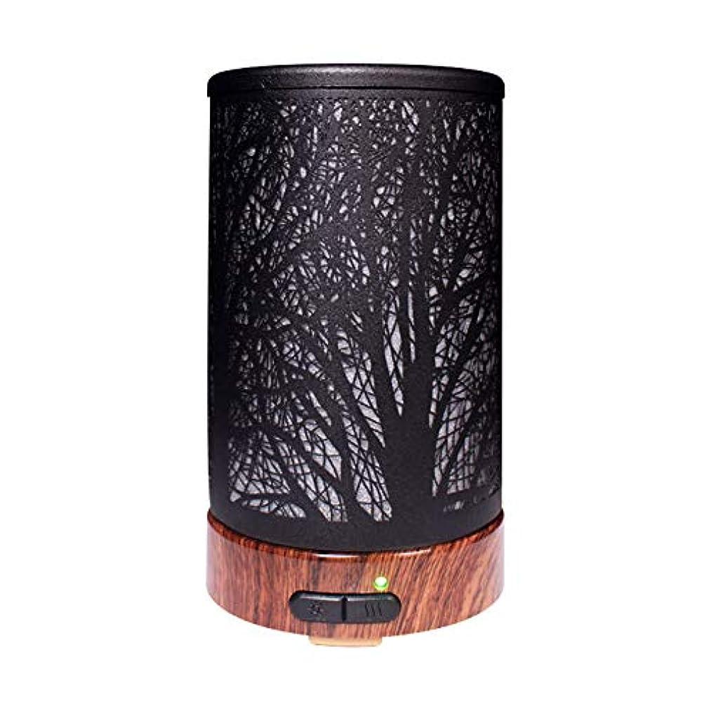 参照チャップ説明的エッセンシャルオイルディフューザーと加湿器、ミストエッセンシャルオイルアロマ加湿器用の超音波アロマディフューザー、7色LEDライト