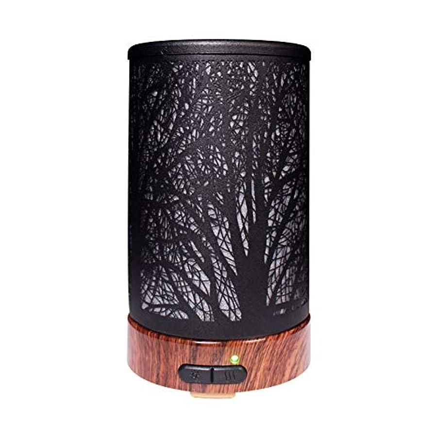普及震えるズボンエッセンシャルオイルディフューザーと加湿器、ミストエッセンシャルオイルアロマ加湿器用の超音波アロマディフューザー、7色LEDライト