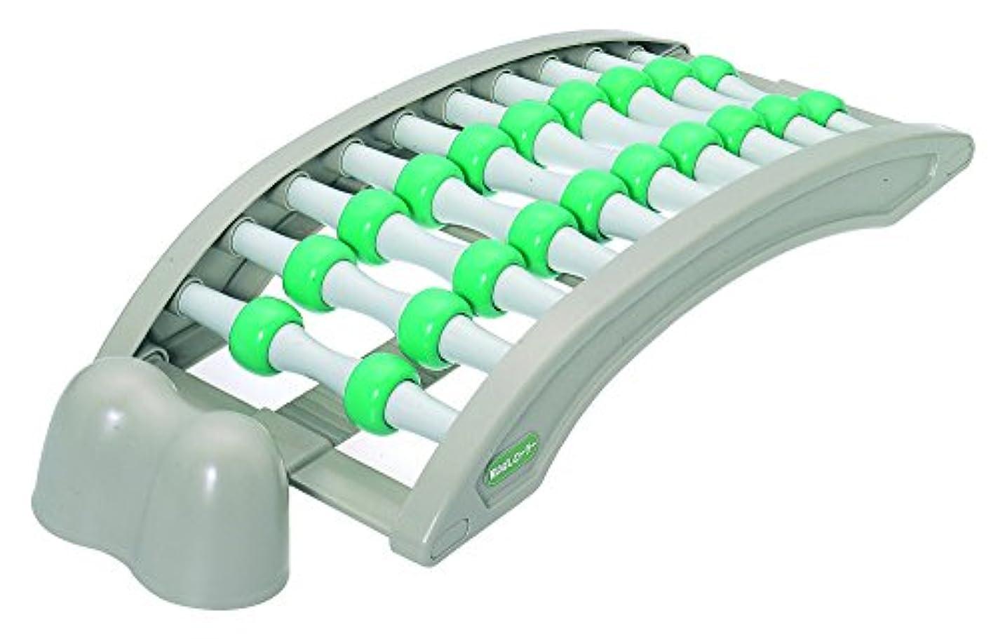 追うすり減る何十人もアイワ 健康器具 背のばしローラー