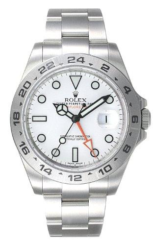 (ロレックス) ROLEX 腕時計 エクスプローラーII 216570 ホワイト メンズ [並行輸入品]
