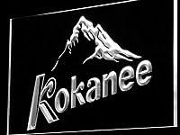 Kokanee BeerLED看板 ネオンサイン ライト 電飾 広告用標識 W30cm x H20cm ホワイト