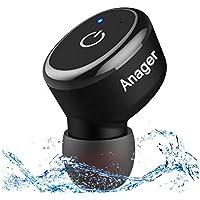 Bluetooth イヤホン 完全ワイヤレスイヤホン 片耳 防水 高音質ワイヤレススポーツイヤホン 運転 運動 シャワーなどに適用 日本語と英語説明書付き 防水進化版 IPX8対応 (片耳)