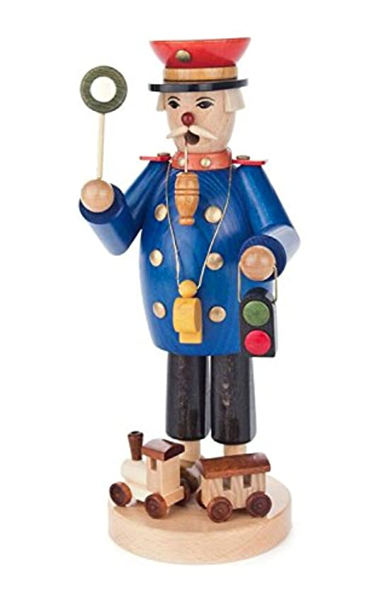 範囲教室加入Alexander Taron 146-1566 Dregeno Incense Burner - Railwayman with a Signal Light & Tiny Train