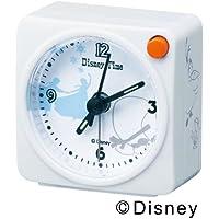 SEIKO CLOCK (セイコークロック) 目覚まし時計 アナと雪の女王 オラフ アナログ Disney Time(ディズニータイム) 白パール FD473W