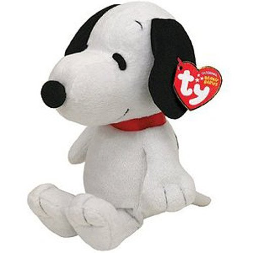 Ty Beanie Baby Snoopy with Sound【スヌーピー:ピーナッツ】押すと音楽が鳴るよ♪【 誕生日:出産祝い・ギフト・記念品】(輸入品)