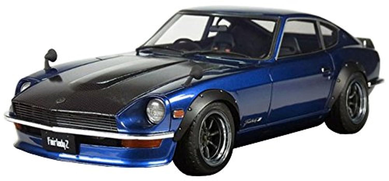 イグニッションモデル 1/12 ニッサン フェアレディZ S30 ブルー 限定 完成品