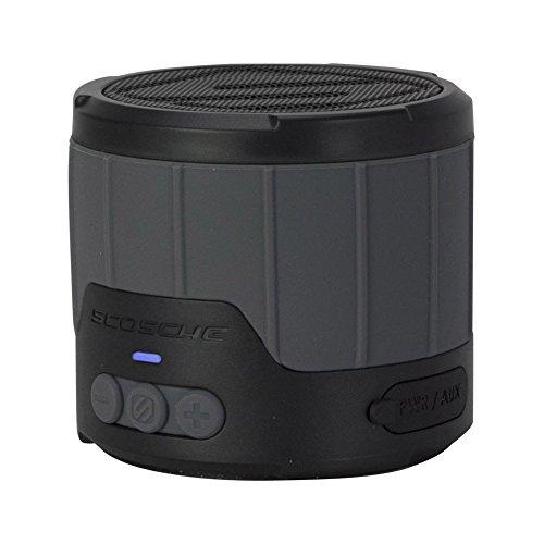 【日本正規代理店品】Scosche boomBOTTLE mini 耐水耐衝撃Bluetoothワイヤレススピーカー グレー SCO-BT-000001