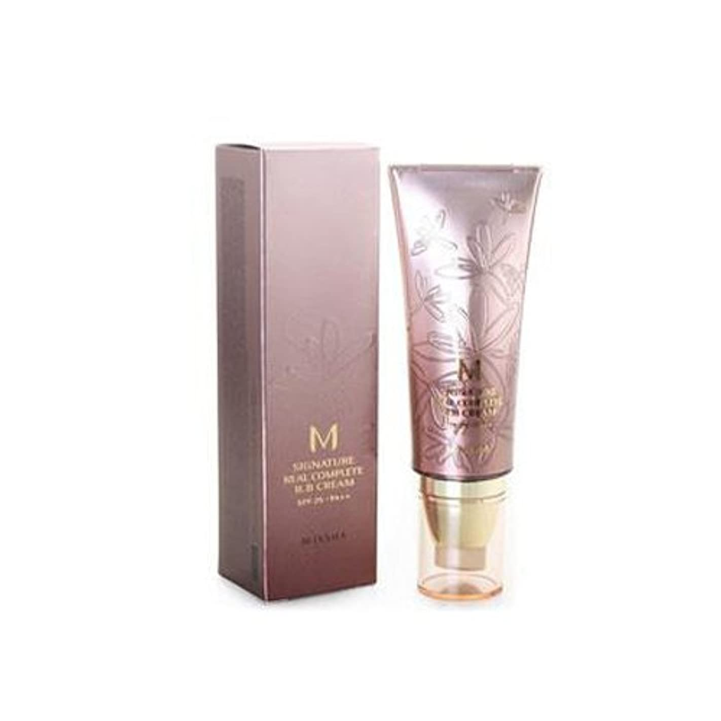 MISSHA M Signature Real Complete B.B Cream SPF 25 PA++ No. 21 Light Pink Beige (並行輸入品)