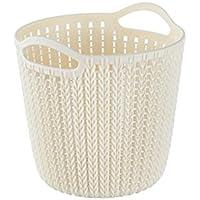 WTL かご?バスケット プラスチックフック収納バスケットシンク吊りバスケット (色 : ピンク ぴんく, サイズ さいず : 20*20cm)