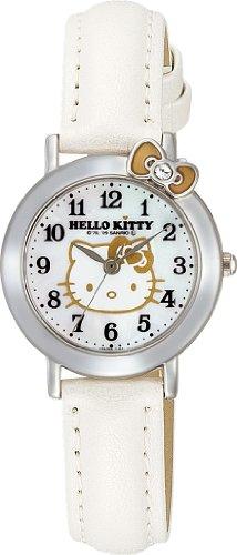 シチズン/CITIZEN Q&  Q 腕時計 Hello Kitty  ハローキティ  アナログ ホワイト VW23-131 レディース
