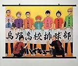 ウォールスクロールポスターファブリックペイントアニメハイキューKarasuno高校61