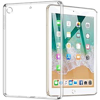 TopACE iPad 9.7インチ ケース iPad 9.7インチ(2017年版 / 2018年版)極薄 ソフト クリア 落下防止 用 耐スクラッチ全面保護 ソフトTPU ケース(クリア)