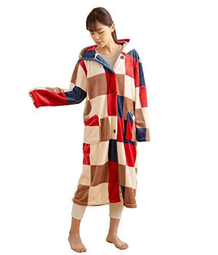 mofua (モフア) 着る毛布 プレミアムマイクロファイバ...
