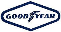 Goodyear Racing Decalsステッカー9cmロングサイズビンテージスタイルビニール