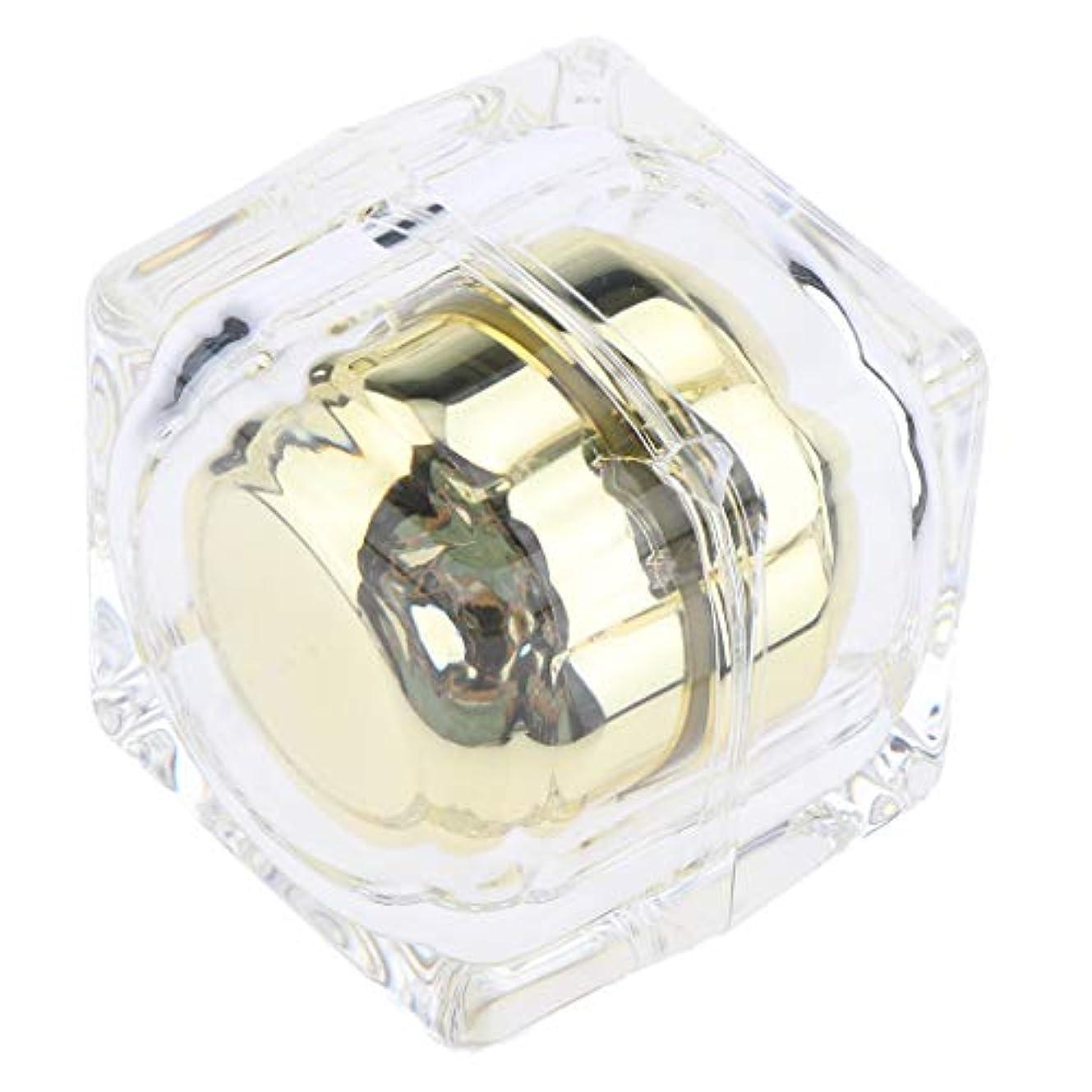 クモバンドタバコリップクリームの化粧品の空の瓶の鍋の表面血清オイル旅行容器30g - ゴールデン
