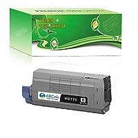 ABCink MC770 (45396212) ブラックトナーカートリッジ Oki MC770 MC780 MFPプリンター対応 15000イールド 1パック ブラック
