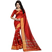 CRAFTSTRIBE Indian Traditional Women Saree Party Wear Wedding Bollywood Fashion Sari