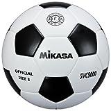ミカサ サッカーボール 検定球 5号 SVC5000-WBK