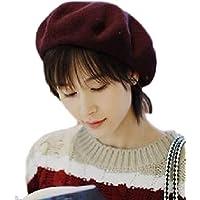 [ニブンノイチスタイル] 1/2style オシャレ 可愛い フワフワ ユッタリ ハンチング ベレー帽 レディース