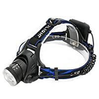 LEDヘッドライトグレア充電式夜釣り灯マイナーヘッドライト屋外ウォーキングライト。防水安全ヘッドライトUSB充電