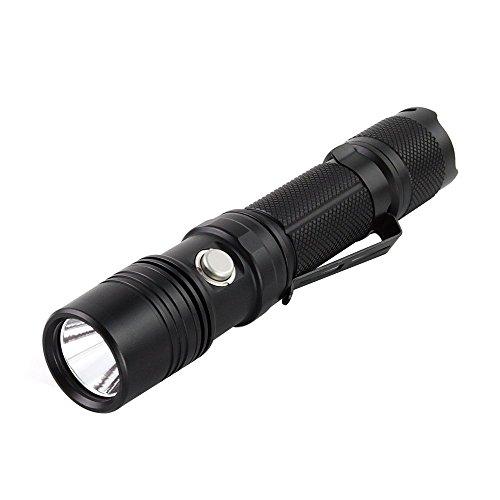 スルーナイト ThruNite TN12 XP-L V6 LED フラッシュライト(電池含まず) Max1100 ルーメン 五段階切替 使用電池 CR123A電池×2 or 18650電池×1 (TN12 2016 XP-L NW)