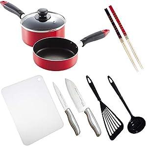 一人暮らし 料理道具 10点セット